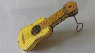 guitarra juguete hojalata rico paya