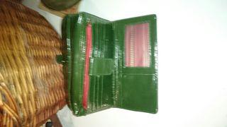 cartera david jones sin uso varios conpartimentos