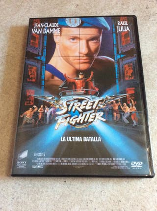 STREET FIGHTER Dvd