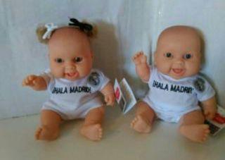 Muñecos de goma del Real Madrid
