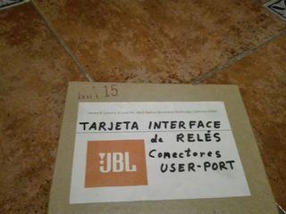 Tarjeta interface de reles JBL