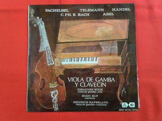 LP - Viola de gamba y clavecin