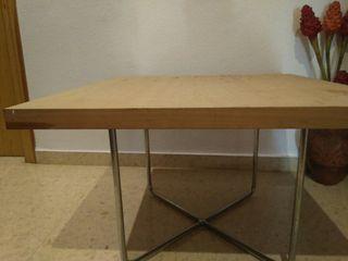 Mesa centro moderna de segunda mano por 20 en silla for Wallapop mesas