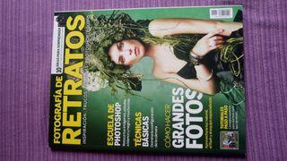Revista especial de fotografía de Retratos