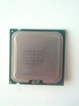 Procesador intel Core 2 Duo E6750