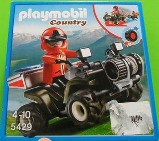 Playmobil Quad rescate montaña