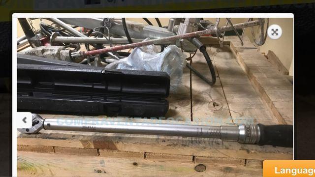 Lote 2 llave dinamométrica alyco 3/4 80n y acesa