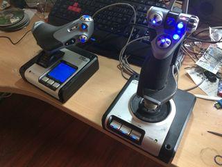 Flight control saitek x52
