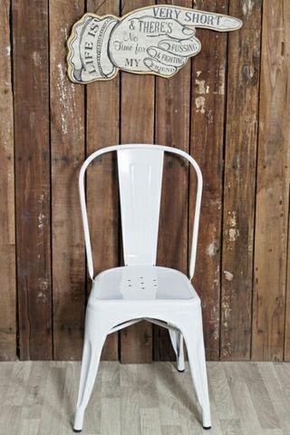 silla diseño estilo industrial