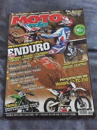 Revista moto verde año 2009