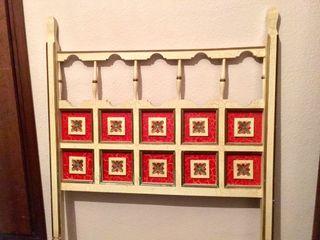 Cabezales de madera de cama vintage buen estado de segunda mano por 20 en valencia en wallapop - Cabezales de cama de madera ...