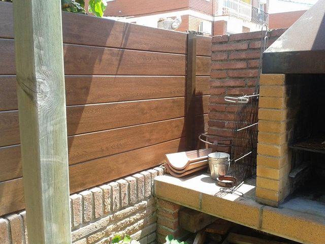 Vallas jardin y terrazas casas en diagonal en wallapop - Vallas para casas ...