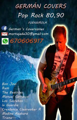 ACTUACIONES POP, ROCK versiones, KARAOKE