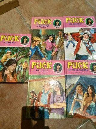 5 libros juveniles puck
