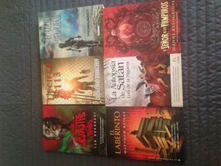6 libros temática de terror