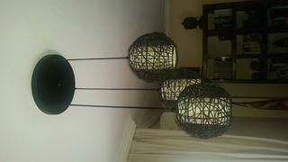 Conjunto lamparas salon