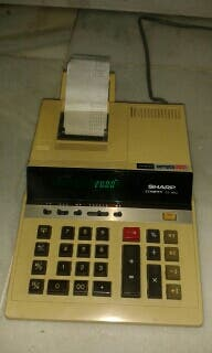 Calculadora Impresora Ticket