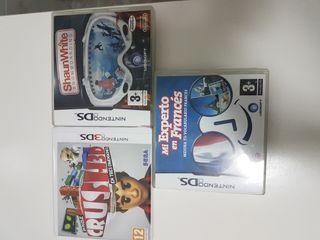 juegos instructivos y ocio de la nintendo DS