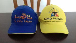 dos gorras nuevas