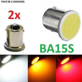 PACK DE 2 BOMBILLAS POSICION FRENO LED COCHE MOTO