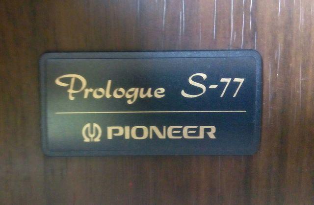ALTAVOCES PIONEER PROLOGUE S - 77 80W
