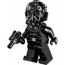 PILOTO TIE FIGURA STAR WARS LEGO COMPATIBLE NUEVA