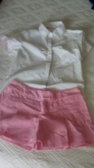 Pantalon Ralph Laurent y camisa Pepe jeans