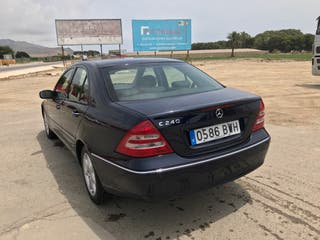Mercedes-benz Clase C240 2002