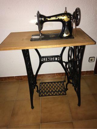 Maquina coser Singer 1914 - perfecta