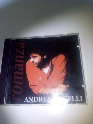CD.Disco.Musica.Andrea Bochelli Romanza.Ocio. otros