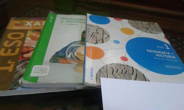Vendo libros de 1 de la ESO buen estado Teresiana