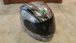 casco agv moto