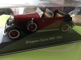 Coche coleccion Hispano Suiza