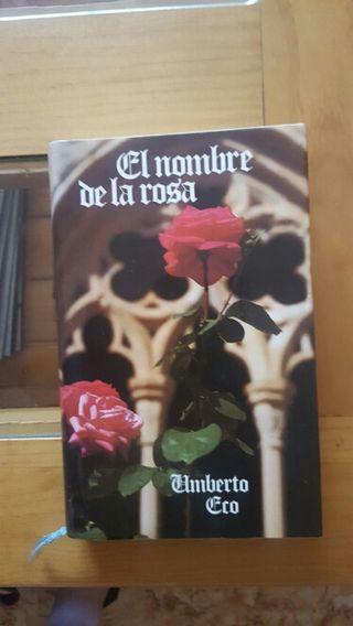 El nombre de la rosa . De Umberto Eco