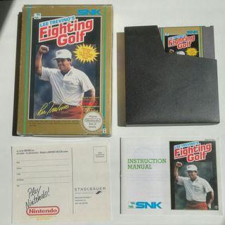 Fighting Golf Nintendo NES