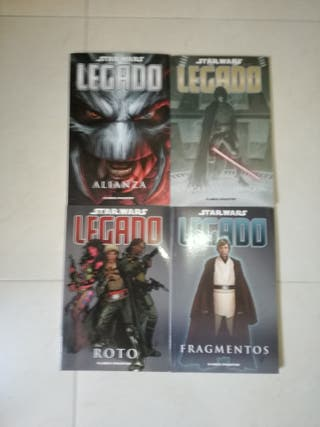 Star Wars Legado, comics