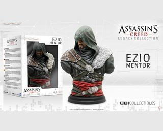 Busto Ezio Mentor Assassins creed Legacy