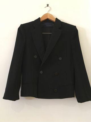 Chaqueta negra de vestir Zara