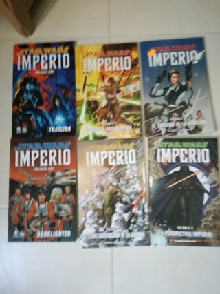 Star Wars, Imperio comics completa