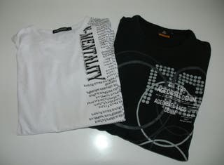 Lot 2 camisetes home XL