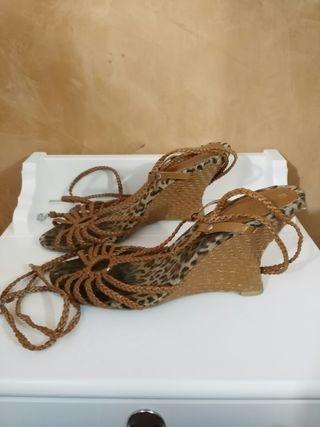 Sandalias cuñas 39/40