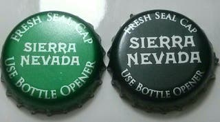Chapas de cerveza Sierra Nevada (USA)