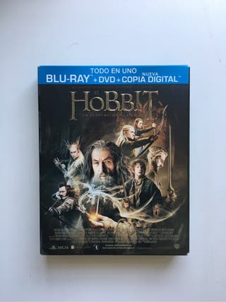 El Hobbit. La deso... Blue Ray