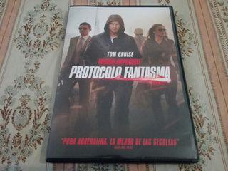 Misión Imposible IV: Protocolo Fantasma - DVD