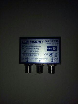 switch spaun 2 satelites