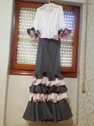 Traje flamenco campero
