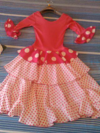Vestido d gitana niña