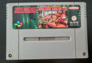 Donkey Kong Country Super Nintendo PAL ESP