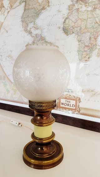 Lámpara club nautico vintage