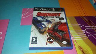 BURNOUT domination PS2